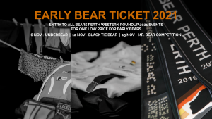 Read more about the article Western Roundup 2021 Early Bear Tickets